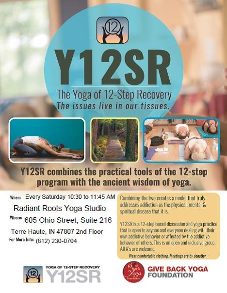 Y12SR The Yoga of 12-Step Recovery
